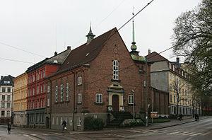 Harald Aars - Vestre frikirke in Oslo, 1920