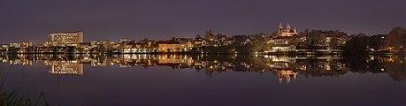 Viborg by night 2014-11-04 exposure fused.jpg
