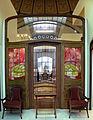 Victor horta, boiserie e mobilio dell'hotel aubecq a bruxelles, 1902-04, 01.JPG