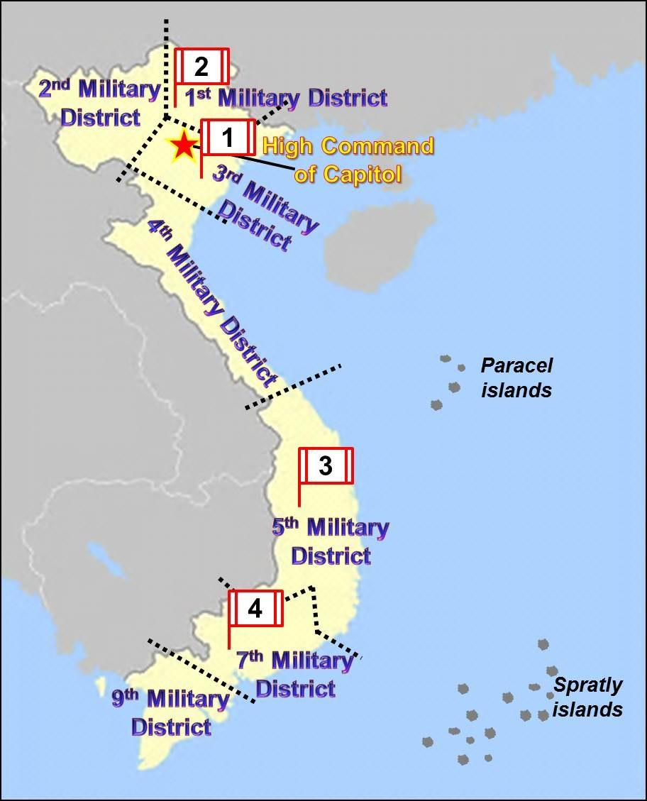 Vietnam Military Regions