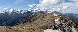 View from Mt Fyffe, Kaikoura Ranges, New Zealand.jpg