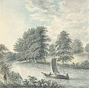 View in the footway between Eaton and Eccleston from the banks of the Dee, 1793.jpg