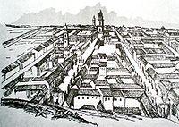 Vista de Caracas en 1812