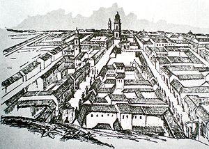 View of Caracas%2C 1812