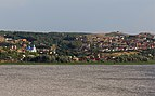 View of Vvedenskaya Sloboda from Sviyazhsk Island 08-2016.jpg