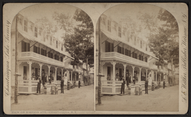 View on Simpson Avenue, Chautauqua, N.Y, by Walker, L. E., 1826-1916.png
