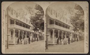 Chautauqua, New York - View of Simpson Avenue