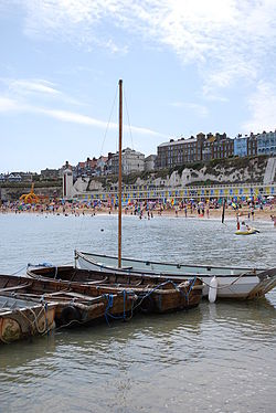 Viking Bay i Broadstairs