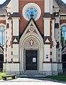 Villach Wilhelm-Hohenheim-Strasse Evangelische Pfarrkirche Portal 07092015 7150.jpg