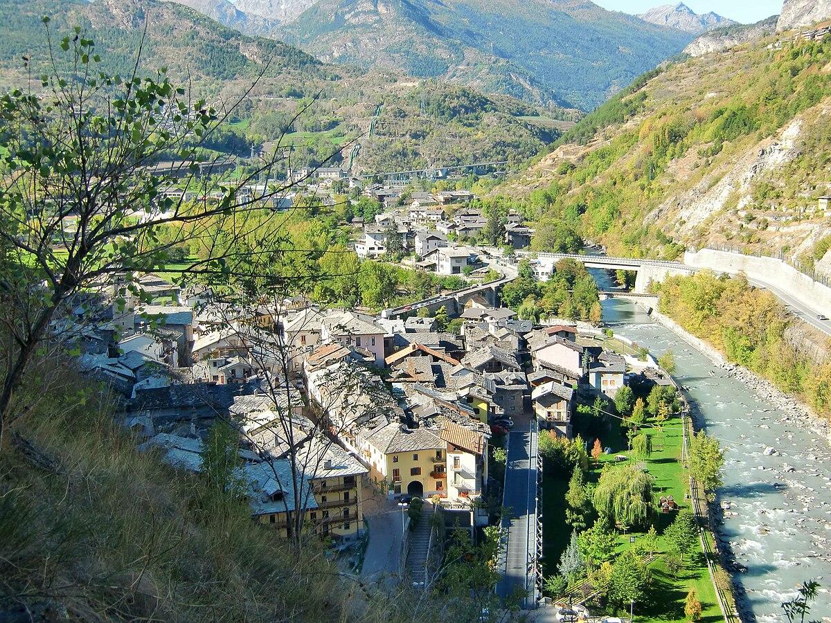 Villeneuve italia wikipedia for Arredo bagno valle d aosta