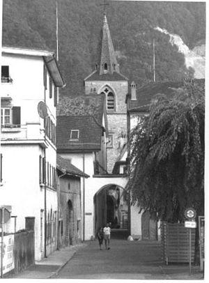 Villeneuve, Vaud - Villeneuve