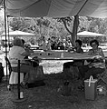 Vilo DeMille (left) and other women working on a quilt at the third annual Folklife Festival, Zion National Park Nature Center (c55e6ec81aee4b1cb43cfc6f2a9ce0c2).jpg
