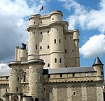 Donjon of the Château de Vincennes, where Charles X's ministers were detained.