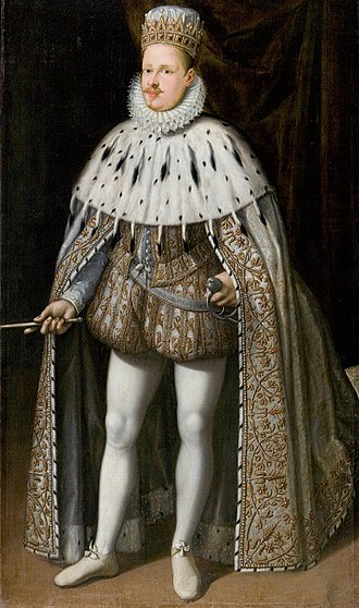 Vincenzo Gonzaga, Duke of Mantua - Vincenzo I Gonzaga in Coronation Robes (1587)