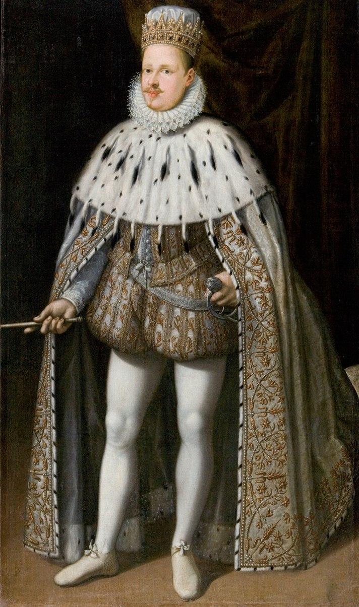 Vincenzo I Gonzaga nel giorno dell'incoronazione