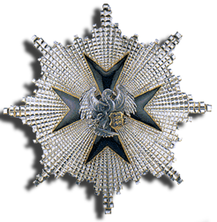 Order of the Cross of the Eagle award