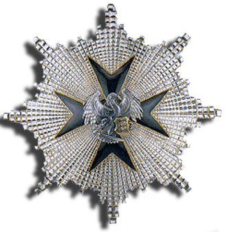 Order of the Cross of the Eagle - Star of the 1st Class of the order