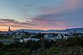 Vista de Reikiavik desde Perlan, Distrito de la Capital, Islandia, 2014-08-13, DD 121-123 HDR.JPG
