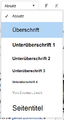 VisualEditor - Toolbar - Headers-de.png
