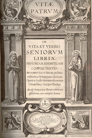 Heribert Rosweyde - Vitae patrum von Heribert Rosweyde 1615