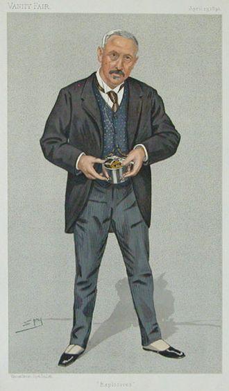 Vivian Dering Majendie - Majendie as caricatured by 'Spy' in 1892