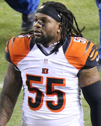 Vontaze Burfict - Burfict with the Cincinnati