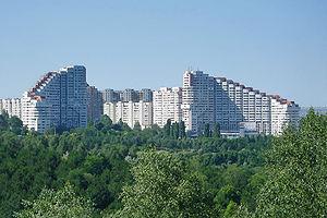 "Chişinău ""Városkapu"" nevű része"
