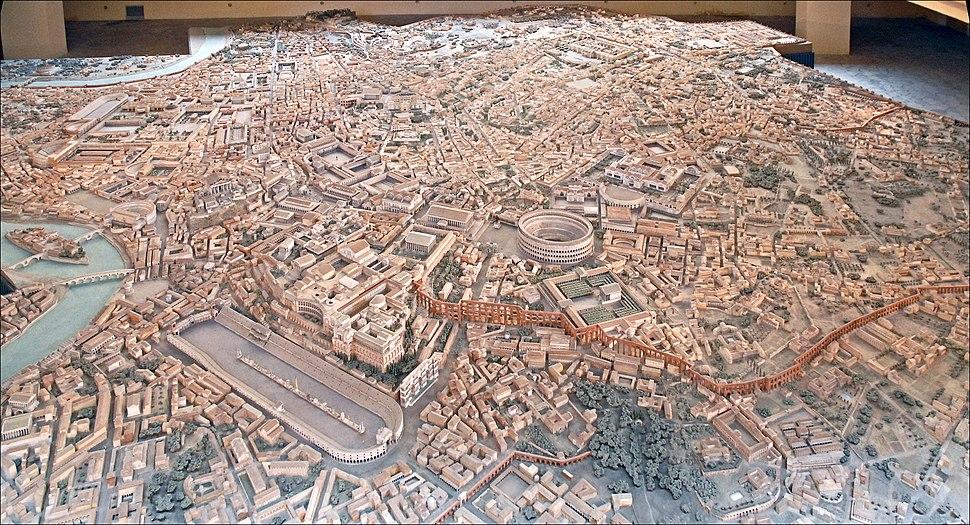 Vue maquette de Gismondi, J.-P. Dalbéra