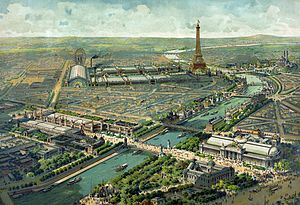 Exposition Universelle (1900) - Aerial view of the Exposition Universelle