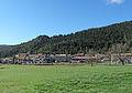 Vue sur le village d'Andon depuis la colonie de vacances.JPG
