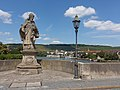 Würzburg, standbeeld van Karel de Grote op die Alte Main Brücke foto5 2016-08-07 13.50.jpg