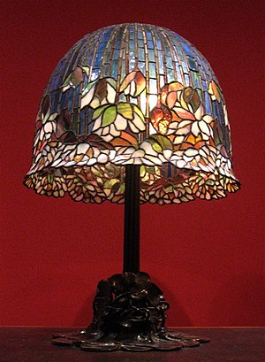 WLA lacma Tiffany Studios Pond Lily Table Lamp