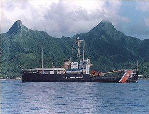 USCGC Sassafras (WLB-401) - USCGC Sassafras off Manua Islands, American Samoa