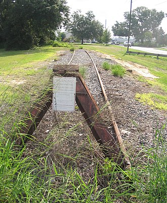 Florida Central Railroad (current) - Image: WO Teb begin RR
