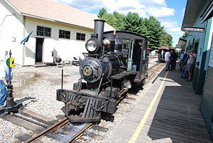 Alna, Maine - The Wiscasset, Waterville & Farmington Railway Museum