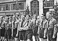 W Kleinfeldt - HJ, Bann 125 (Tübingen) auf dem Marktplatz 1.5.1937 (TJiG05).jpg