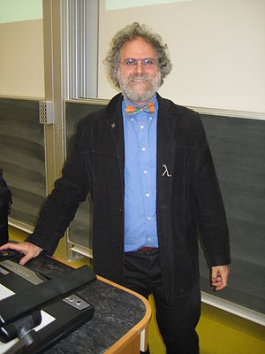 Philip Wadler - Philip Wadler before a lecture at the University of Edinburgh.