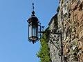 Waidhofen an der Ybbs - Rothschildschloß - geschmiedete Lampe.jpg