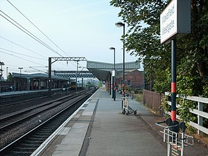 Wakefield Westgate railway station - Platform 2 - For northbound trains