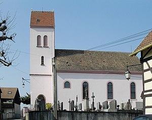 Waltenheim - Image: Waltenheim, Eglise Saints Pierre et Paul 2
