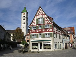Wangen i A - Saumarkt - Klosenweberhaus, Pfarrkirche