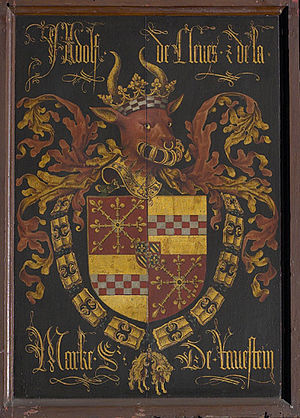 Adolph of Cleves, Lord of Ravenstein - Arms of Adolph of Cleves, Lord of Ravenstein.