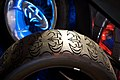 Warner Brothers VIP studio tour - Batmobile tires.jpg