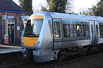 Warwick - Chiltern 168110 down train.JPG