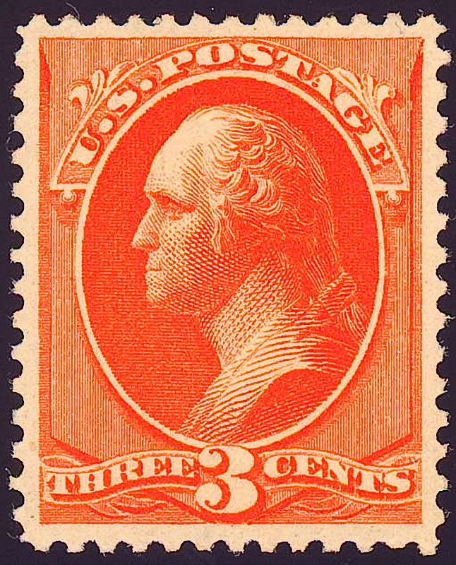 Washington3 1870 Issue-3c