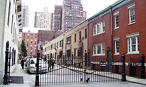 Washington Mews - seen from Fifth Avenue (2011)