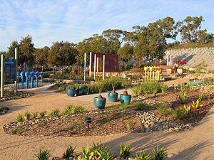 Royal Botanic Gardens, Cranbourne - The Water Saving exhibition garden