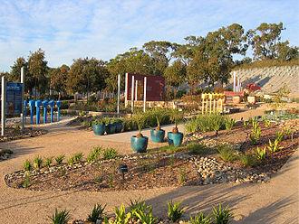 Royal Botanic Gardens, Cranbourne - The Water Saving exhibition garden