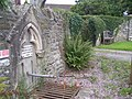Water feature at entrance to the church - geograph.org.uk - 958392.jpg