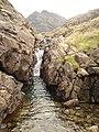 Waterfall at Loch Scavaig - geograph.org.uk - 508986.jpg